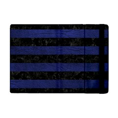 STR2 BK-MRBL BL-LTHR Apple iPad Mini Flip Case