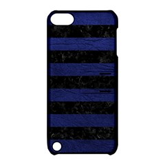 STR2 BK-MRBL BL-LTHR Apple iPod Touch 5 Hardshell Case with Stand