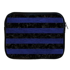 STR2 BK-MRBL BL-LTHR Apple iPad 2/3/4 Zipper Cases