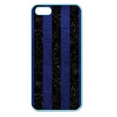 STR1 BK-MRBL BL-LTHR Apple Seamless iPhone 5 Case (Color)