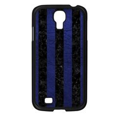 STR1 BK-MRBL BL-LTHR Samsung Galaxy S4 I9500/ I9505 Case (Black)