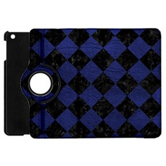 SQR2 BK-MRBL BL-LTHR Apple iPad Mini Flip 360 Case
