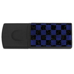 SQR1 BK-MRBL BL-LTHR USB Flash Drive Rectangular (2 GB)