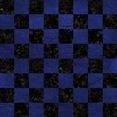 Square1 Black Marble & Blue Leather Magic Photo Cube