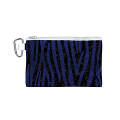 SKN4 BK-MRBL BL-LTHR (R) Canvas Cosmetic Bag (S)