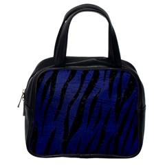 SKN3 BK-MRBL BL-LTHR (R) Classic Handbags (One Side)