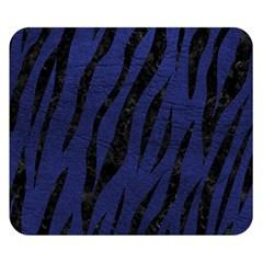 SKN3 BK-MRBL BL-LTHR (R) Double Sided Flano Blanket (Small)