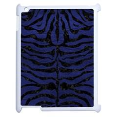 SKN2 BK-MRBL BL-LTHR (R) Apple iPad 2 Case (White)