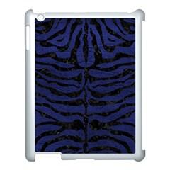 SKN2 BK-MRBL BL-LTHR (R) Apple iPad 3/4 Case (White)