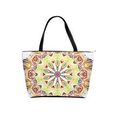 Intricate Flower Star Shoulder Handbags