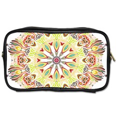 Intricate Flower Star Toiletries Bags