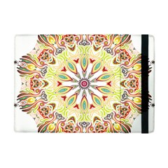 Intricate Flower Star Apple iPad Mini Flip Case