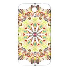 Intricate Flower Star Samsung Galaxy Mega I9200 Hardshell Back Case