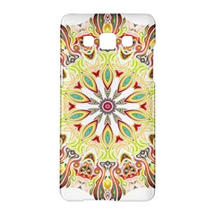 Intricate Flower Star Samsung Galaxy A5 Hardshell Case