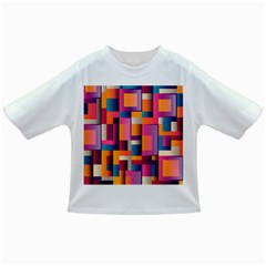 Abstract Background Geometry Blocks Infant/toddler T Shirts