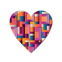 Abstract Background Geometry Blocks Heart Magnet