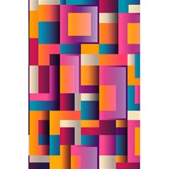 Abstract Background Geometry Blocks 5.5  x 8.5  Notebooks