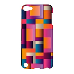 Abstract Background Geometry Blocks Apple iPod Touch 5 Hardshell Case