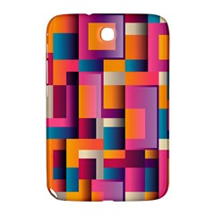 Abstract Background Geometry Blocks Samsung Galaxy Note 8 0 N5100 Hardshell Case
