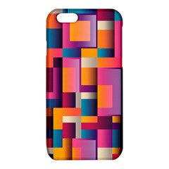 Abstract Background Geometry Blocks iPhone 6/6S TPU Case