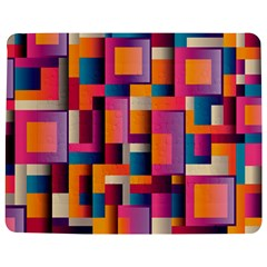 Abstract Background Geometry Blocks Jigsaw Puzzle Photo Stand (rectangular)
