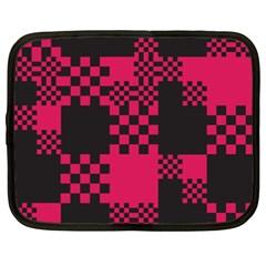 Cube Square Block Shape Creative Netbook Case (XXL)