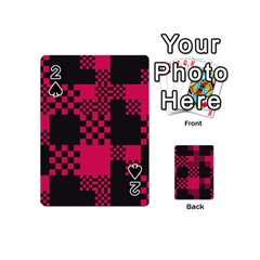 Cube Square Block Shape Creative Playing Cards 54 (Mini)