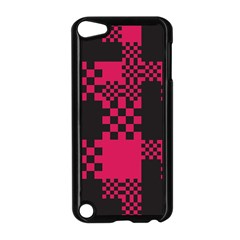 Cube Square Block Shape Creative Apple Ipod Touch 5 Case (black)