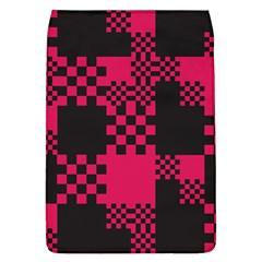 Cube Square Block Shape Creative Flap Covers (l)