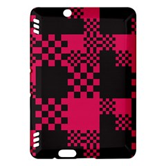 Cube Square Block Shape Creative Kindle Fire HDX Hardshell Case