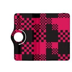 Cube Square Block Shape Creative Kindle Fire HDX 8.9  Flip 360 Case