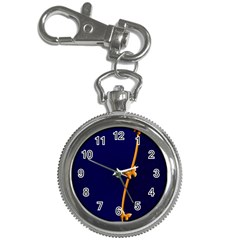 Greeting Card Invitation Blue Key Chain Watches
