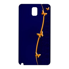 Greeting Card Invitation Blue Samsung Galaxy Note 3 N9005 Hardshell Back Case