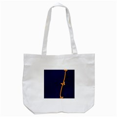 Greeting Card Invitation Blue Tote Bag (White)