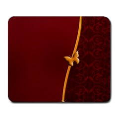 Greeting Card Invitation Red Large Mousepads