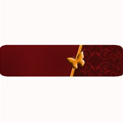 Greeting Card Invitation Red Large Bar Mats