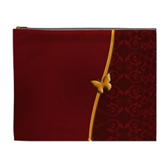 Greeting Card Invitation Red Cosmetic Bag (xl)