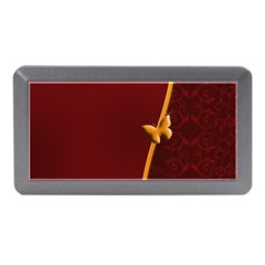 Greeting Card Invitation Red Memory Card Reader (Mini)