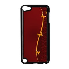 Greeting Card Invitation Red Apple Ipod Touch 5 Case (black)