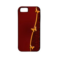 Greeting Card Invitation Red Apple Iphone 5 Classic Hardshell Case (pc+silicone)