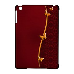Greeting Card Invitation Red Apple iPad Mini Hardshell Case (Compatible with Smart Cover)