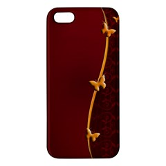 Greeting Card Invitation Red Apple iPhone 5 Premium Hardshell Case