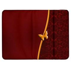 Greeting Card Invitation Red Samsung Galaxy Tab 7  P1000 Flip Case