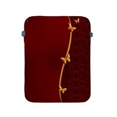 Greeting Card Invitation Red Apple iPad 2/3/4 Protective Soft Cases