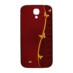 Greeting Card Invitation Red Samsung Galaxy S4 I9500/I9505  Hardshell Back Case