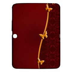 Greeting Card Invitation Red Samsung Galaxy Tab 3 (10.1 ) P5200 Hardshell Case