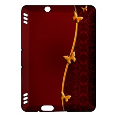Greeting Card Invitation Red Kindle Fire HDX Hardshell Case