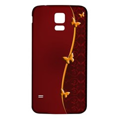 Greeting Card Invitation Red Samsung Galaxy S5 Back Case (White)