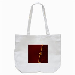 Greeting Card Invitation Red Tote Bag (White)
