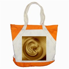 Gold Background Texture Pattern Accent Tote Bag